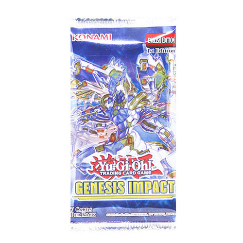 Yugioh: Genesis Impact Booster Pack