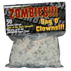 Zombies!!! Bag O'Clowns - Glow-in-the-Dark