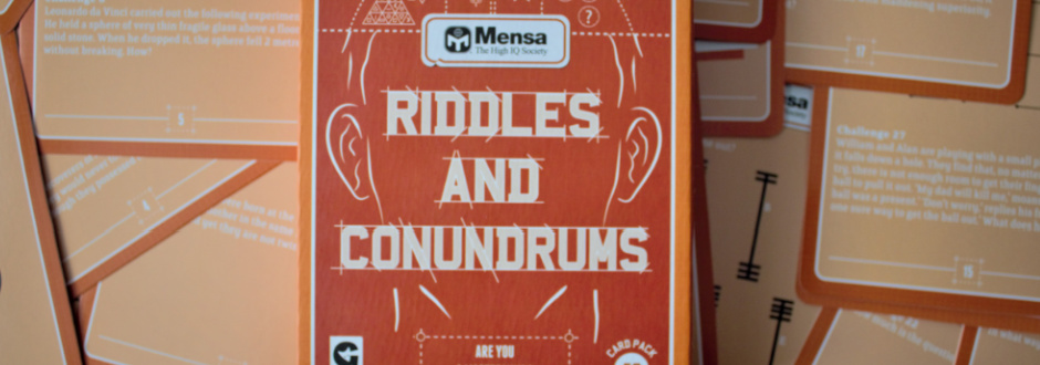 Mensa: Riddles and Conundrums Review