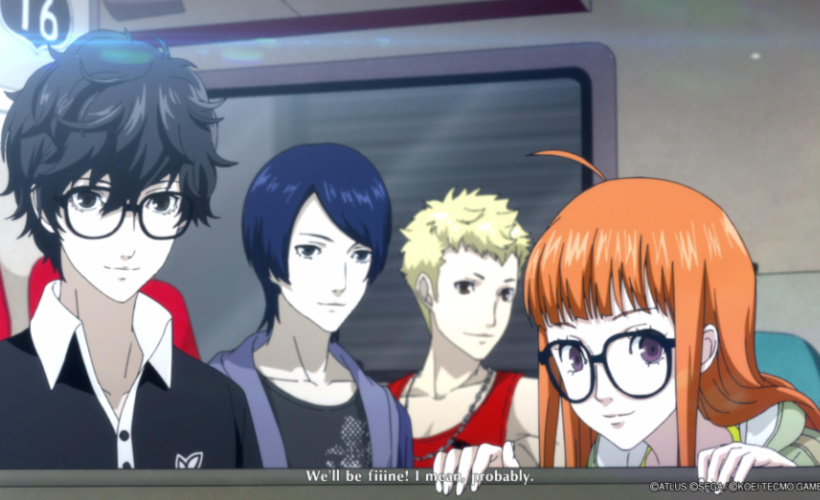 persona 5 strikers cast