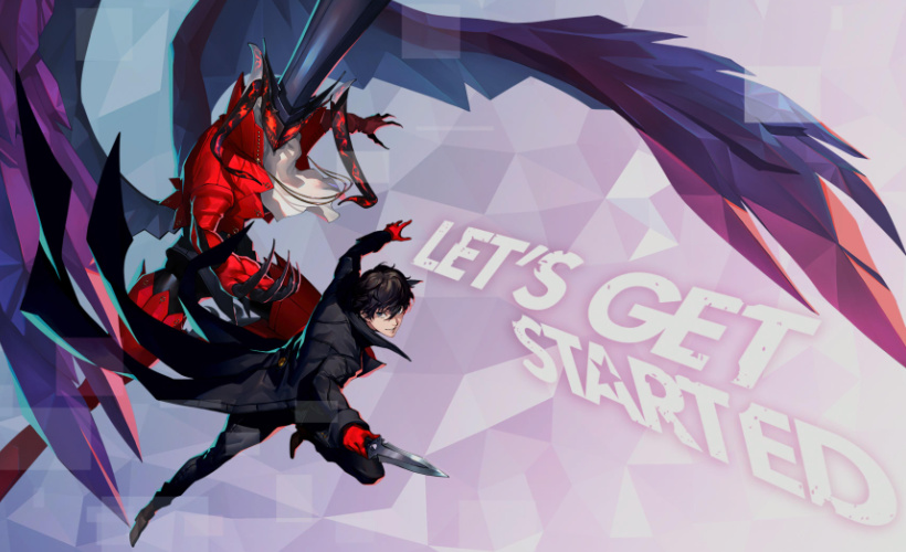persona 5 strikers let's get started