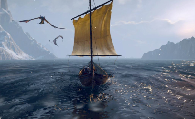 the witcher 3 sailing