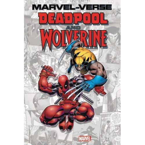Marvel-Verse: Deadpool & Wolverine (Paperback)