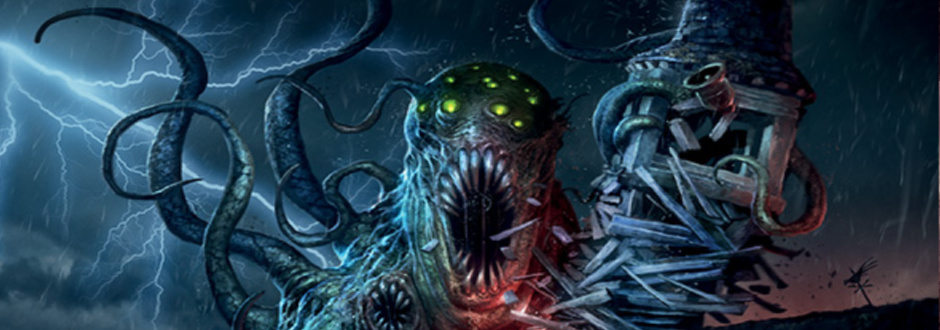 Arkham Horror Undimesioned and Unseen Feature