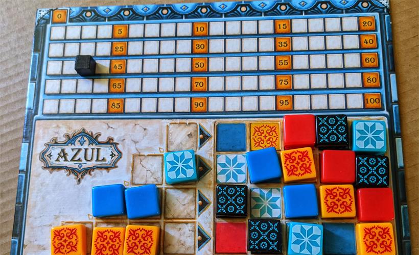 Azul 5 family games