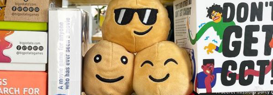 Big Potato Plushies