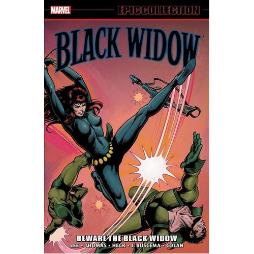 Black Widow Epic Collection: Beware the Black Widow (Paperback)