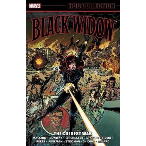 Black Widow Epic Collection: The Coldest War (Paperback)