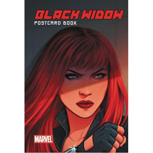 Black Widow Postcard Book (Hardback)