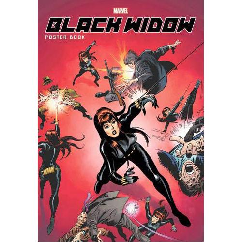 Black Widow Poster Book (Paperback)
