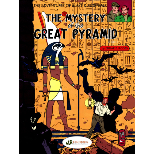Blake & Mortimer Vol.2: The Mystery of the Great Pyramid Part 1 (Paperback)