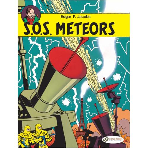 Blake & Mortimer Vol.6: SOS Meteors (Paperback)