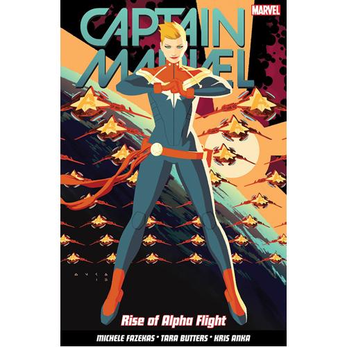 Captain Marvel Volume 1: Rise of Alpha Flight (Paperback)