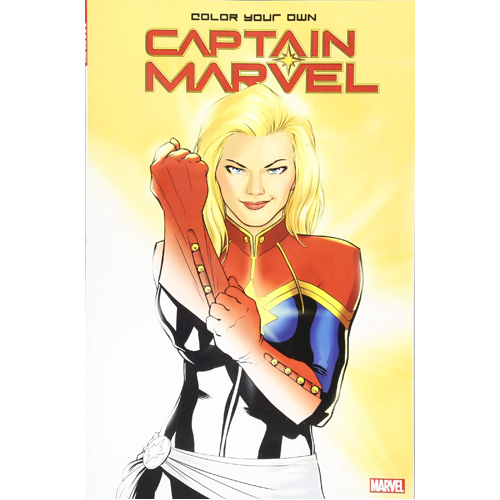 Color Your Own Captain Marvel (Paperback)
