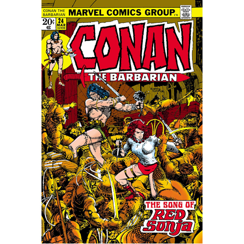 Conan the Barbarian Epic Collection: The Original Marvel Years - Hawks From the Sea (Paperback)