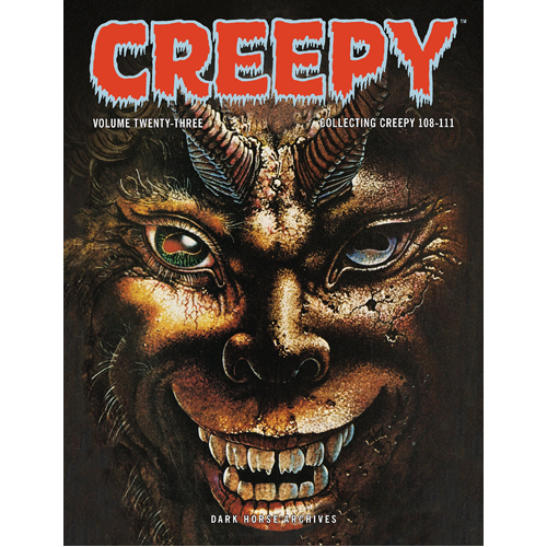 Creepy Archives Volume 23 (Hardback)