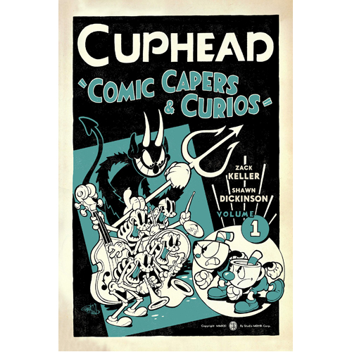 Cuphead Volume 1: Comic Capers & Curios (Paperback)