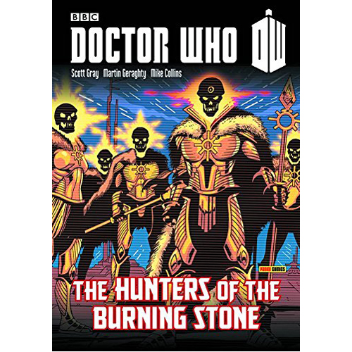 Doctor Who: Hunters of the Burning Stone (Paperback)