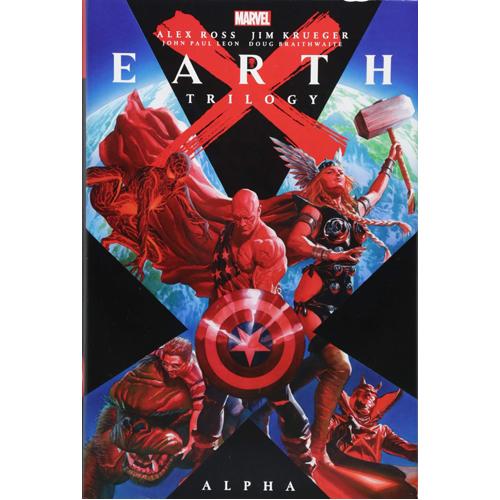 Earth X Trilogy Omnibus: Alpha (Hardback)