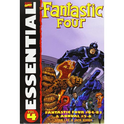Essential Fantastic Four Vol.4 (Paperback)