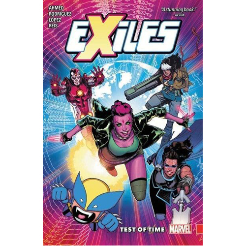 Exiles Vol. 1: Test of Time (Paperback)