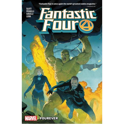Fantastic Four Vol. 1: Fourever (Paperback)