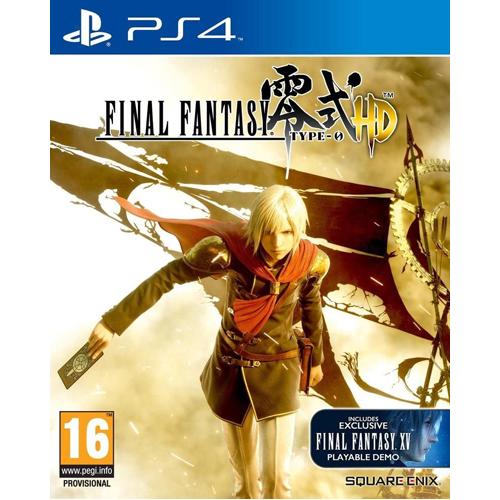 Final Fantasy Type-0 HD (Inc. FF XV (15) Demo) - PS4