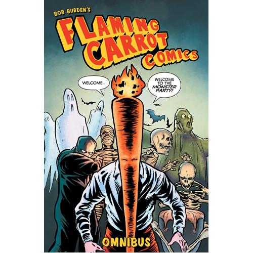 Flaming Carrot Omnibus Volume 1 (Paperback)