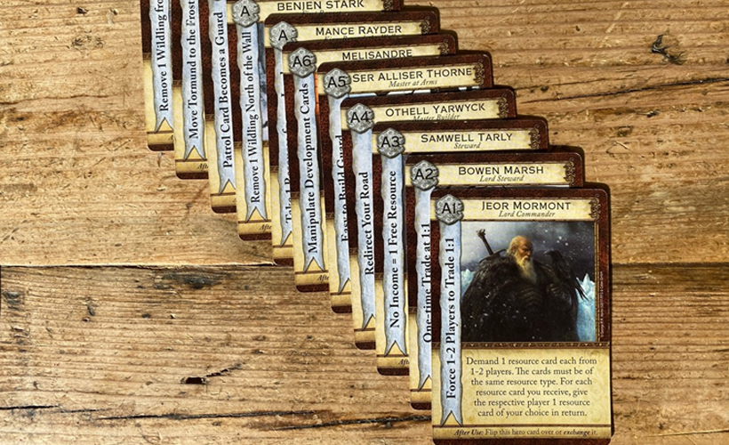 Game of Thrones Catan Cards