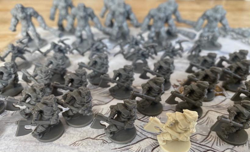 Game of Thrones Catan Miniatures