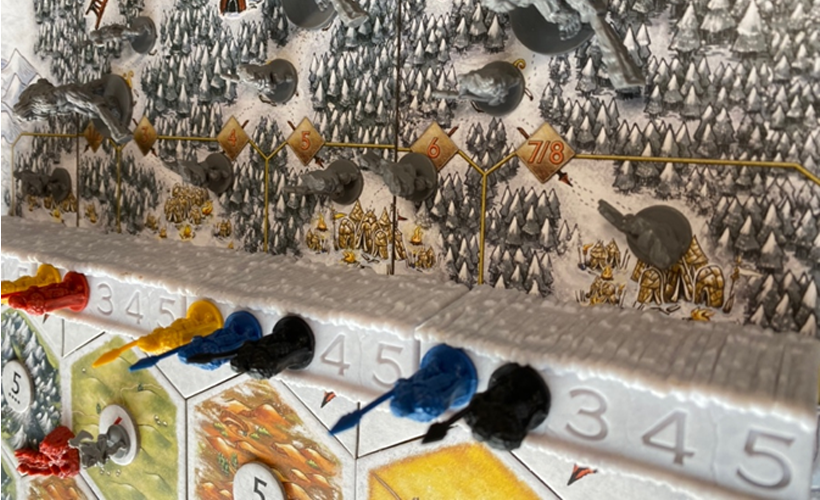 Game of Throne Catan Pieces