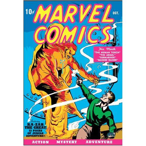 Golden Age Marvel Comics Omnibus Vol. 1 (Hardback)