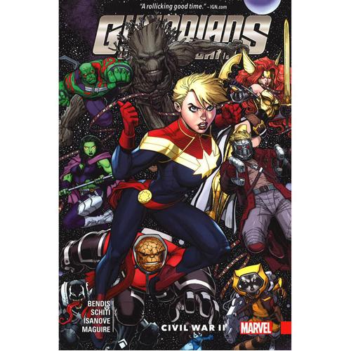 Guardians of the Galaxy: New Guard Vol. 3 - Civil War II (Hardback)
