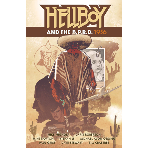 Hellboy and the B.P.R.D.: 1956 (Paperback)