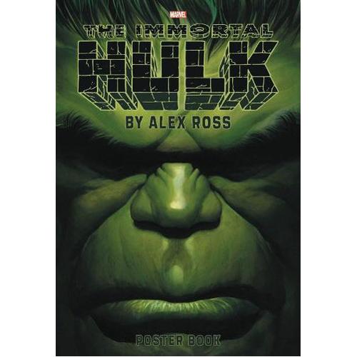 Immortal Hulk By Alex Ross Poster Book (Paperback)