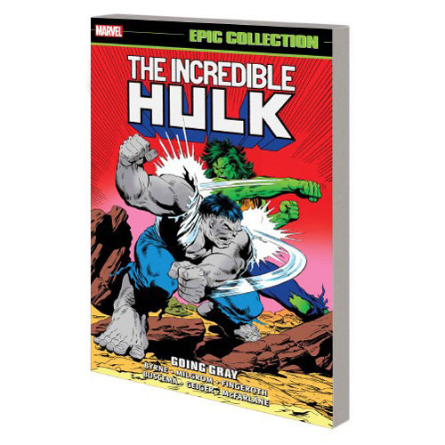 Incredible Hulk Epic Collection: Going Gray (Paperback)