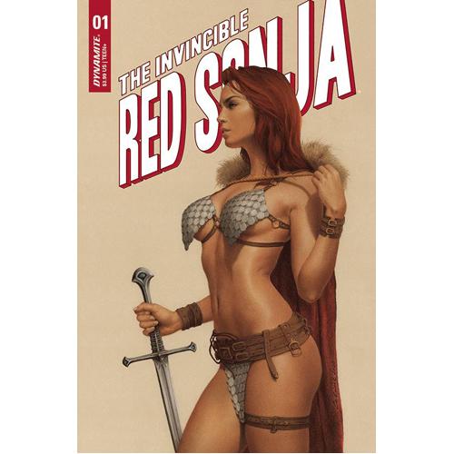 Invincible Red Sonja #1 Cover C Celina