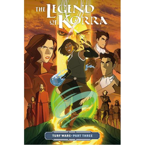 Legend of Korra, The: Turf Wars Part 3 (Paperback)