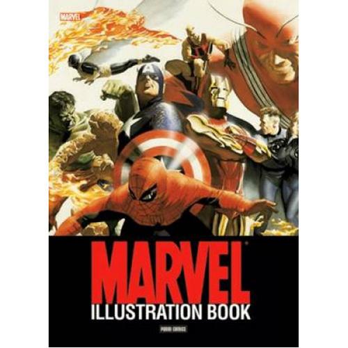 MARVEL ILLUSTRATION BOOK (Paperback)