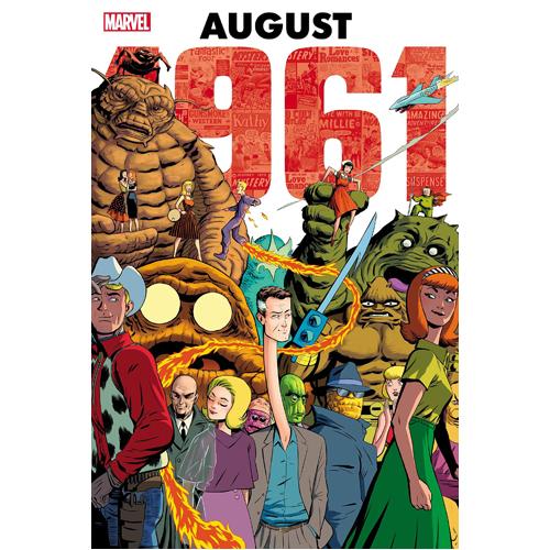 Marvel: August 1961 Omnibus (Hardback)