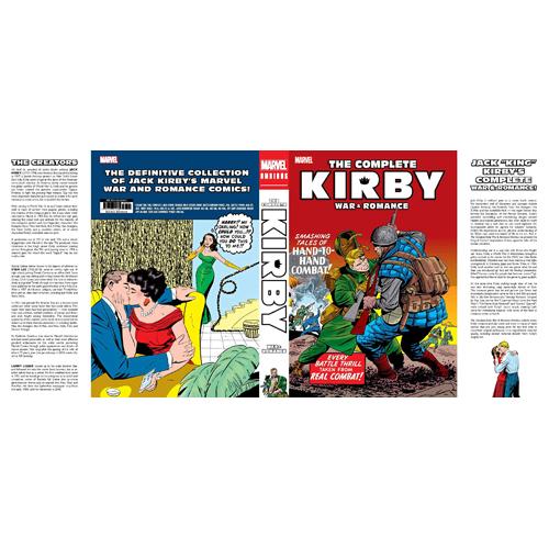 Marvel Love and War by Jack Kirby Omnibus (Hardback)