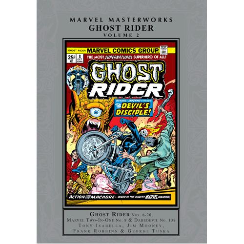 Marvel Masterworks: Ghost Rider Vol. 2 (Hardback)