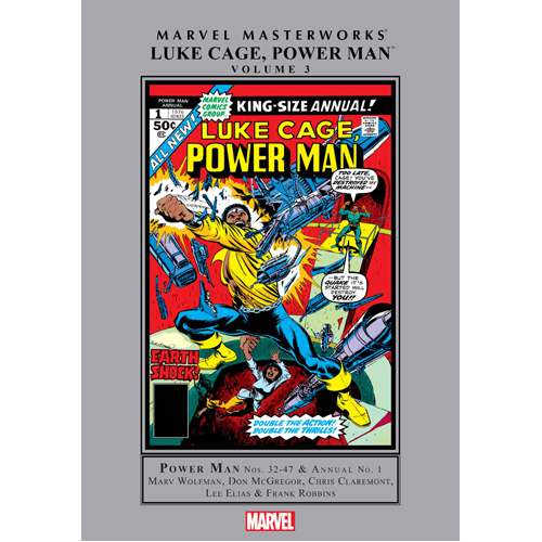 Marvel Masterworks: Luke Cage, Power Man Vol. 3 (Hardback)