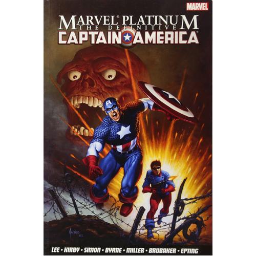 Marvel Platinum: The Definitive Captain America (Paperback)