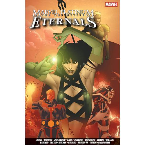 Marvel Platinum: The Definitive Eternals (Paperback)