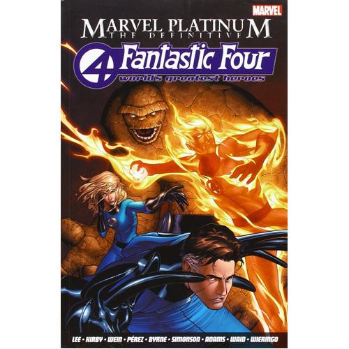Marvel Platinum: The Definitive Fantastic Four (Paperback)