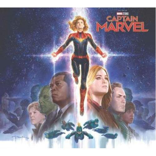 Marvel's Captain Marvel: The Art of the Movie (Hardback)