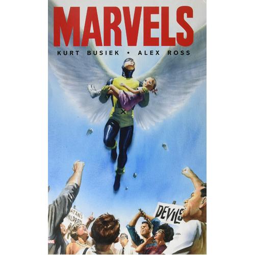 Marvels Monster-Sized Edition (Hardback)