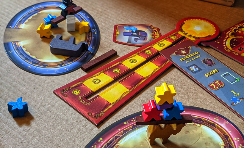 Meeple Circus 5 family Games