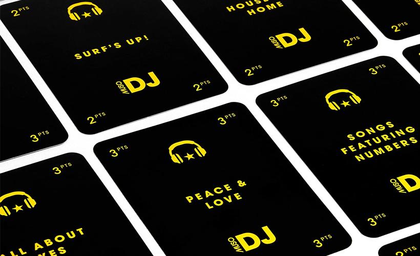 Muso DJ Cards